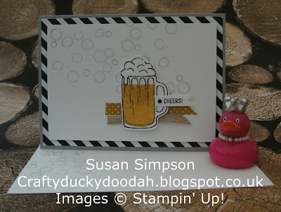 Stampin' Up! UK Independent  Demonstrator Susan Simpson, Craftyduckydoodah!, Mixed Drinks, Playful Backgrounds, Supplies available 24/7 from my online store,