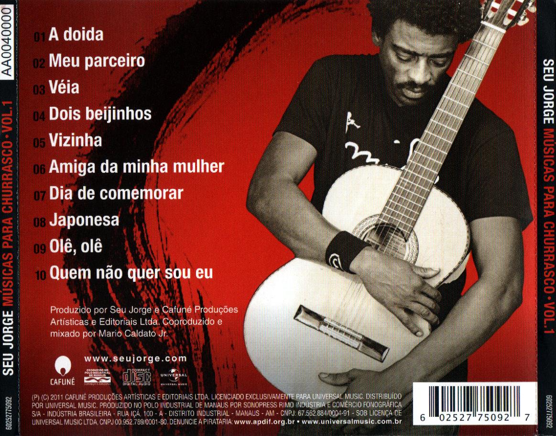 cd seu jorge musicas para churrasco 2012