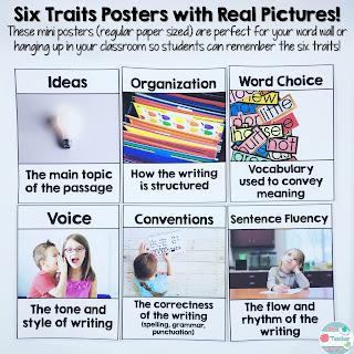 Six Traits Posters