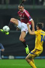 berhasil memetik kemenangan kedua  di lanjutan penyisihan Grup H Liga Champions Terkini AC Milan Tuntukkan BATE 2-0 di Liga Champions