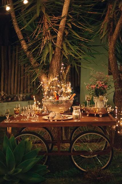 casamento real, sandra e renato, recepção, detalhes, mesa de champanhe, iluminação