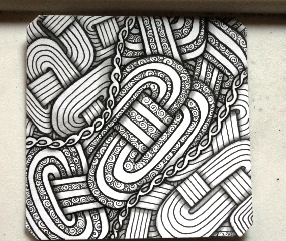 Jaysix Zentangle Shaded