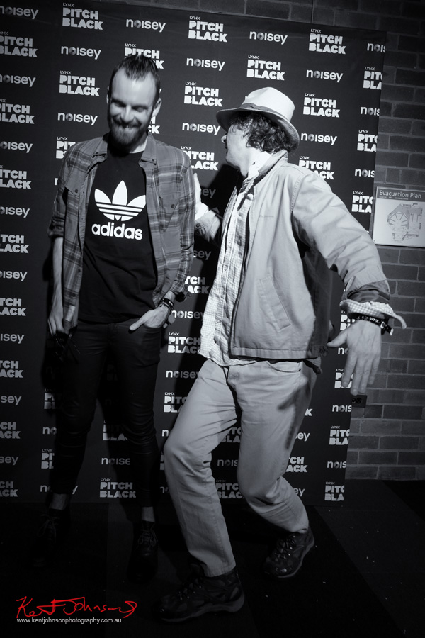 Leaving #LYNXPitchBlack with Mr Christopher Haggarty. Photo by @vivalaviv