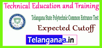TS POLYCET Technical Education and Training Expected Cutoff
