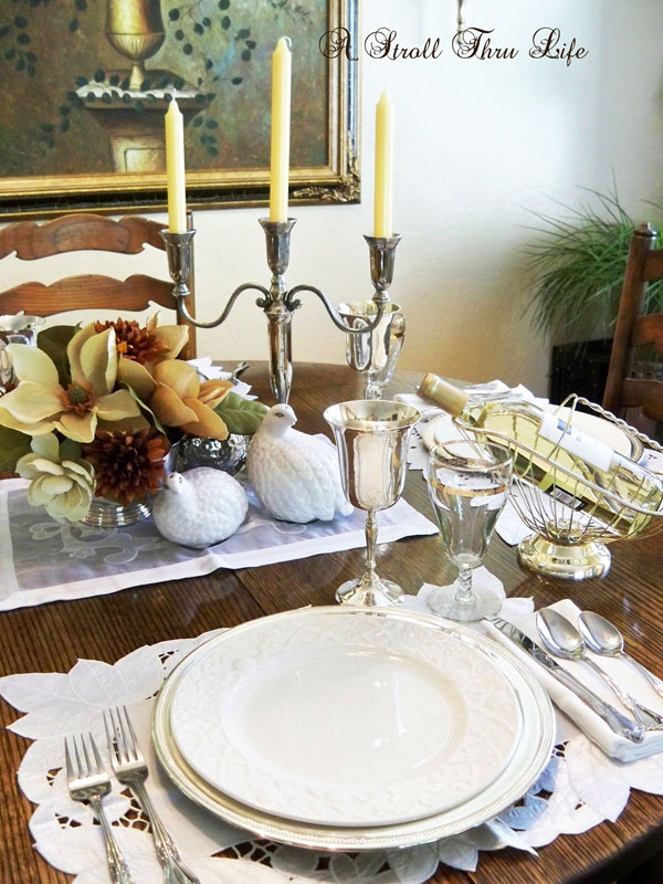 A Stroll Thru Life: Basic Must-Have\'s For Setting A Pretty Table