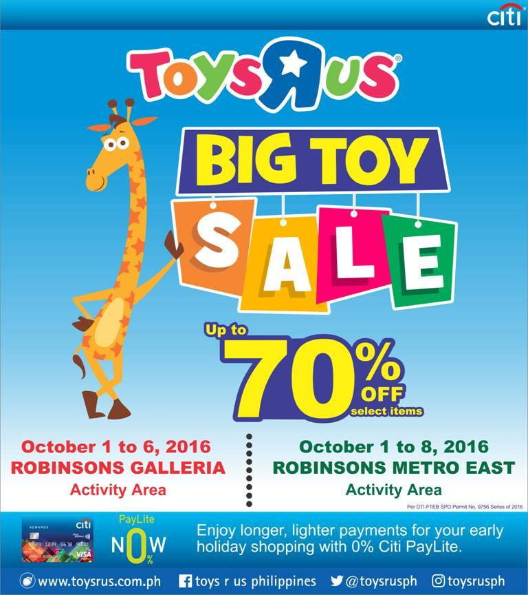 We've got the info you'll need to take advantage of Toys