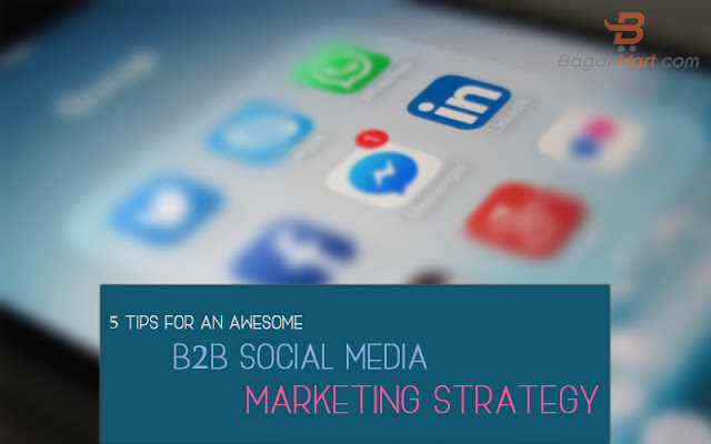 B2B social media marketing strategy