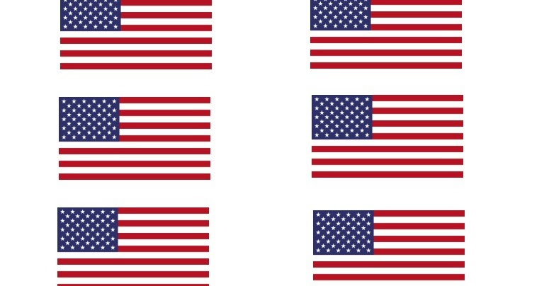 A Holiday Haven Free printable flags for Memorial day and the 4th
