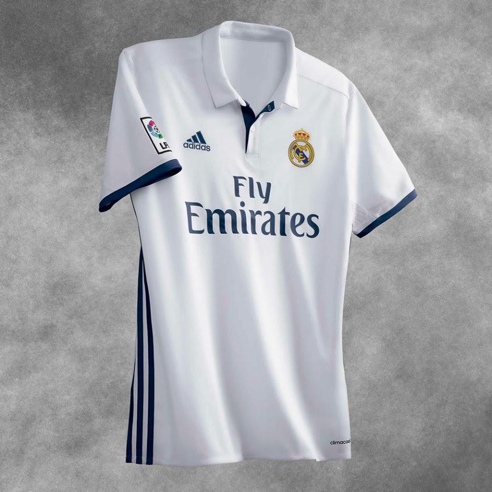 dcea3845484bc Nueva camiseta Real Madrid 2016 2017