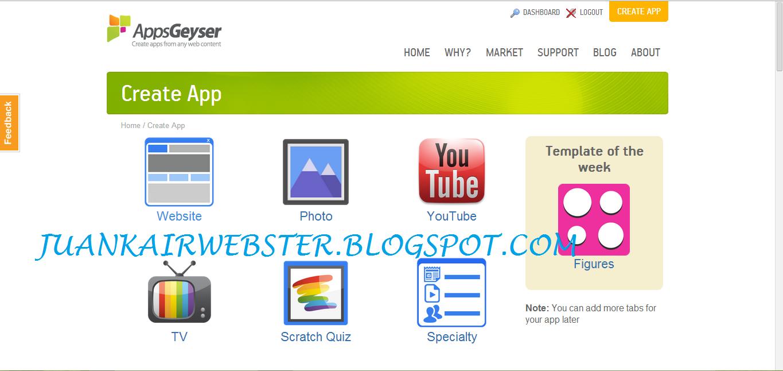 Cara Membuat Aplikasi Android Blog Sendiri - Juankair Webster