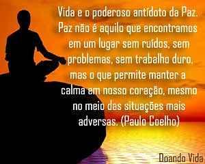 Vida, calma e paz