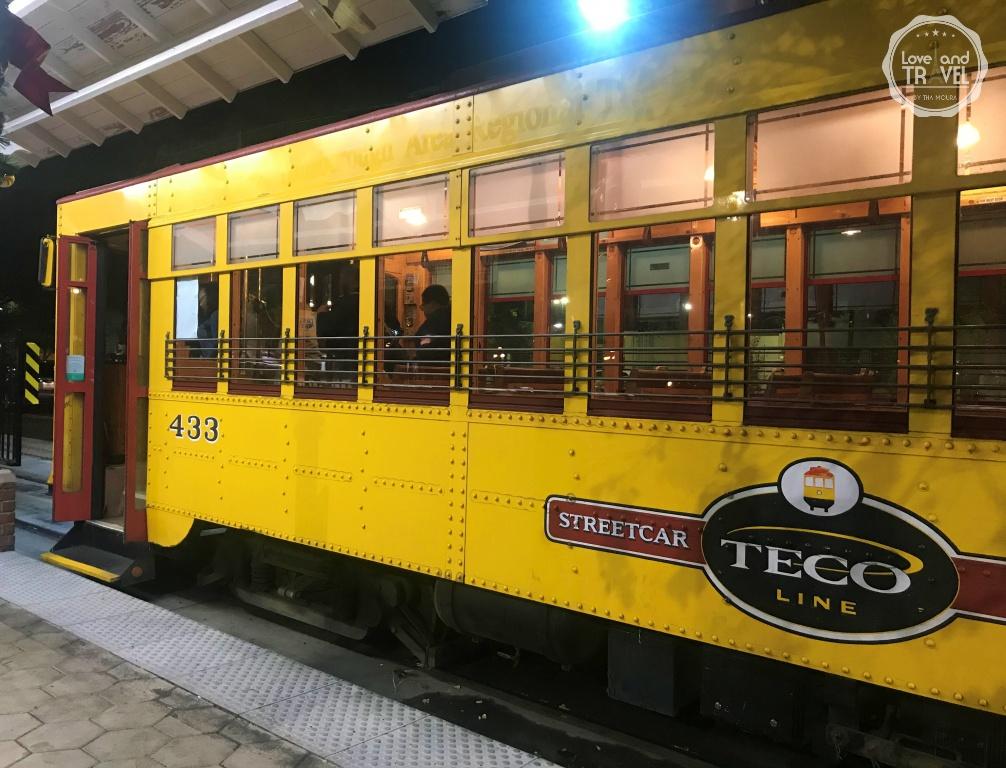 Linha de Bonde Histórica da TECO Tampa