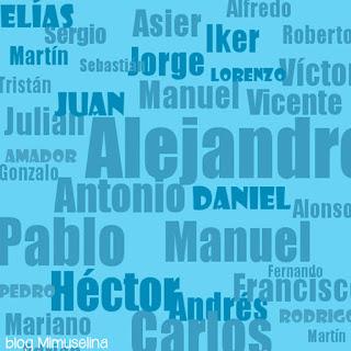 blog mimuselina tendencia en nombres para niño este año