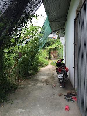 Đường vào mảnh đất thổ cư giá rẻ Sổ Đỏ tại tổ 4 Phường Đồng Mai, Mai Lĩnh, Hà Đông, HN