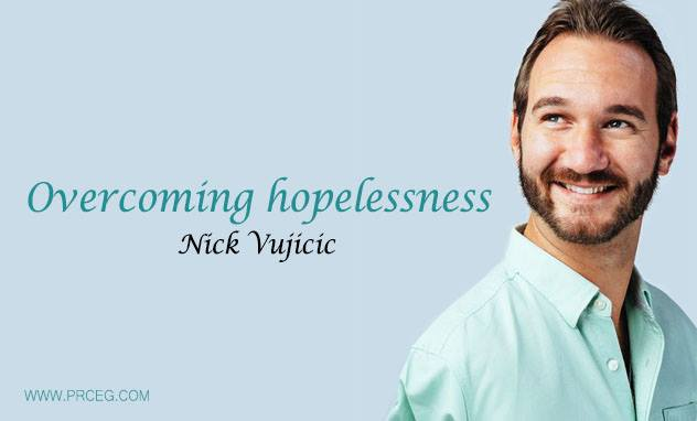 Overcoming hopelessness | Nick Vujicic | TEDx - نادى القراءه العمليه