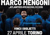 Logo Vinci gratis i biglietti per il concerto di Marco Mengoni