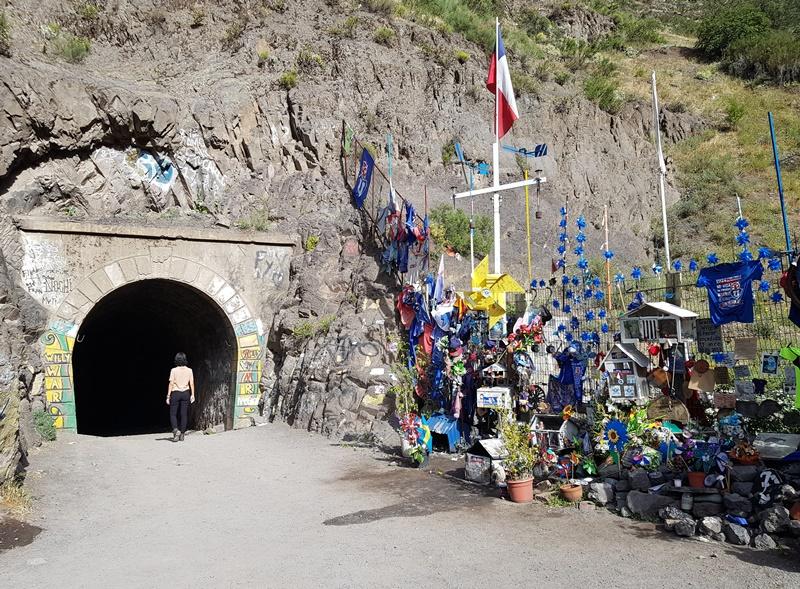 Tunel Tinoco, Cajon del Maipo