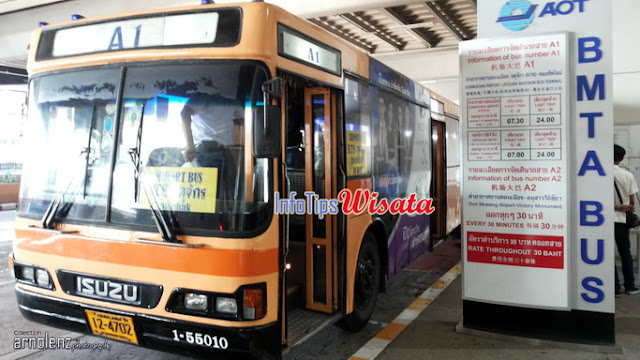 shuttle bus bandara don mueang bangkok