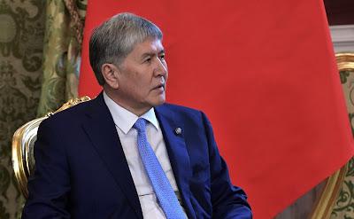 President of Kyrgyzstan Almazbek Atambayev.