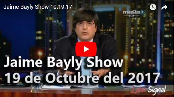 Jaime Bayly ataca al dictador Maduro en su programa
