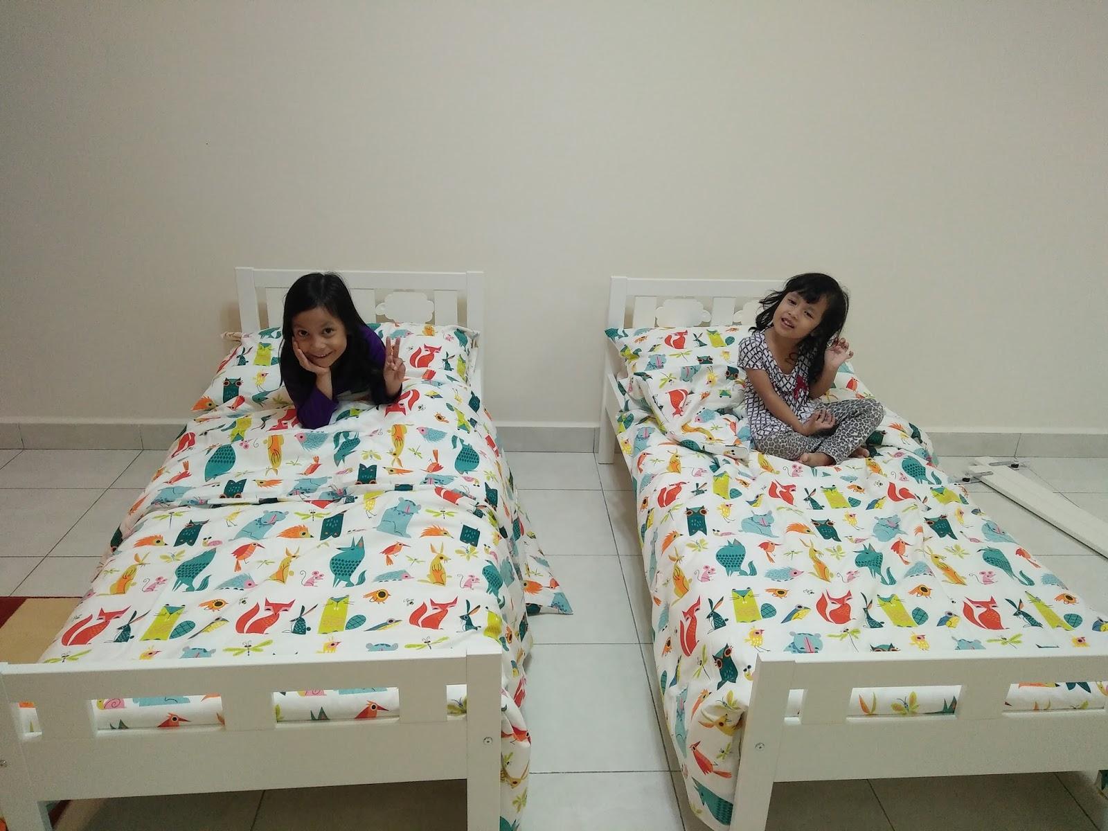 Preparation To Meet My Little Child Projek Bilik Anak Katil Size Kanak Kanak