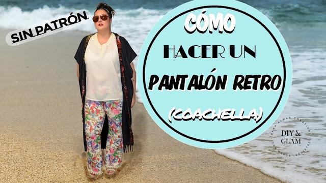 Cómo hacer un pantalón retro tipo Coachella