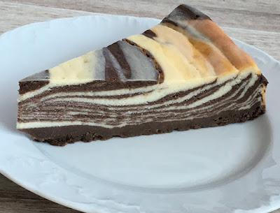 Sernik czekoladowy z wanilią