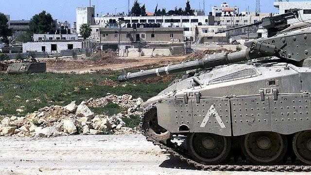 Tank-tank Penjajah Zionis Serang Jalur Gaza