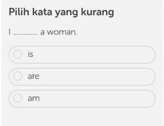Pertanyaan pada aplikasi Duolingo