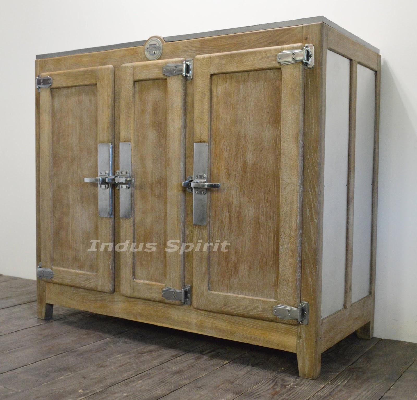 meuble frigo bar ancien. Black Bedroom Furniture Sets. Home Design Ideas