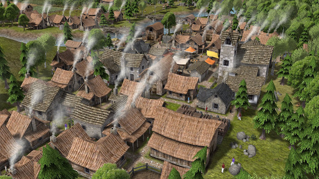 Screenshot of Banished