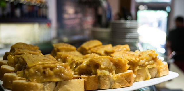 Tortilla de patata_restaurante txirimiri Madrid