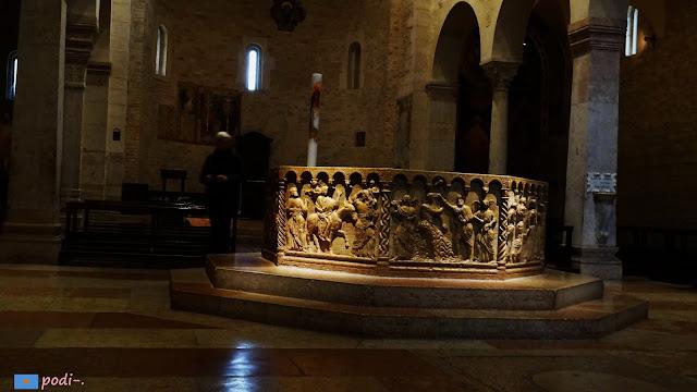 Brioloto, battisterio, Verona