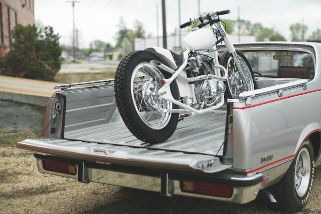 Honda CB350 1969 By Rawhide Cycles Hell Kustom
