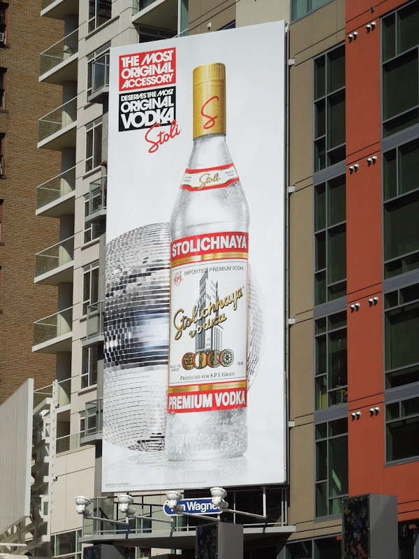 Stoli Most Original Accessory vodka billboard