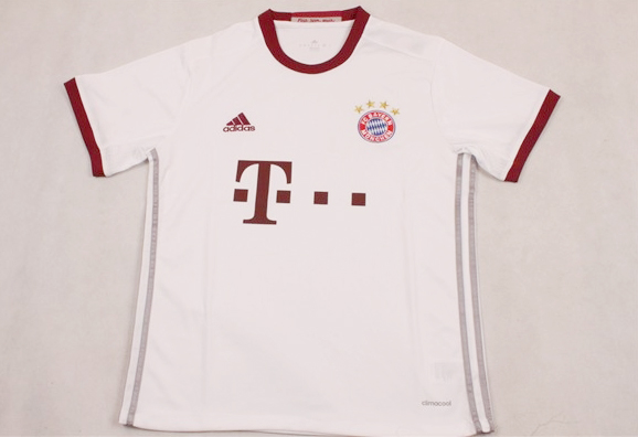Bayern 16-17 3rd Away Thailand Soccer Jersey