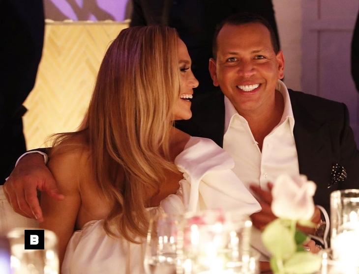 Fotos: Jennifer Lopez y Alex Rodriguez celebran su fiesta de compromiso junto a sus hijos