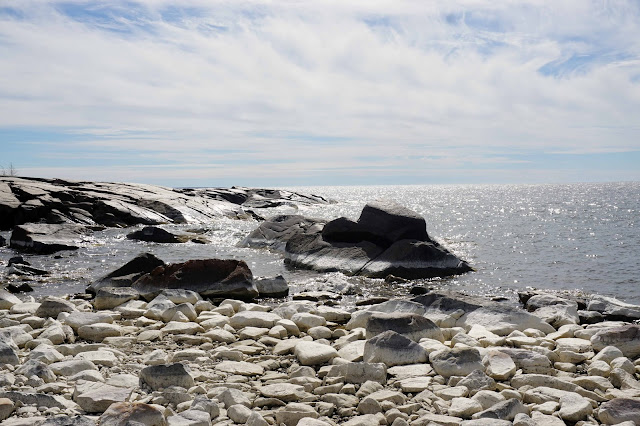 Kallo ranta meri kivikko