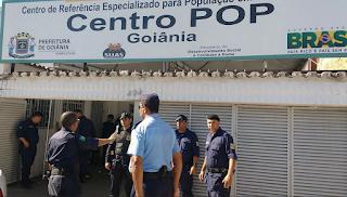 GCM de Goiânia (GO) faz vistoria de rotina no Centro Pop