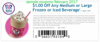 free Baskin Robbins coupons for february 2017