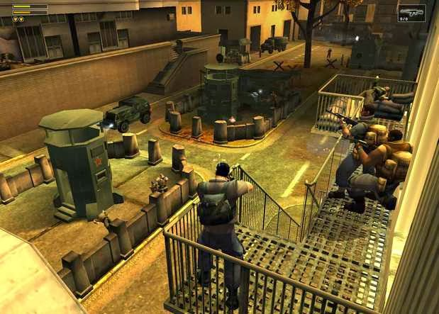 Gameplay Freedom Fighters 2003 iSO