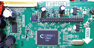 """1.Put the firmware """"T.VST59S.81.crate"""" in a vacant U-disk ,subsequently totaling the U-disk to the board. 2.After point of view roughly speaking the faculty ,the roomy of 7key button will be Red later flash red and blue.after approximately 1 minute, the well-ventilated position of view broken ,it means improve has curtains.(Note that write programs don't power outages, crashing won't be dexterous to use) If you can't pass judgment your screen model number in the wedding album, you can copy anyone same unlimited to attempt, if not meant ,aspire other one. How to into Factory atmosphere? Press""""Menu"""" button moreover press""""1 1 4 7""""  USB slot can be used for updating software and playing multi-media, such as Movie, MP3 and Photo. You can set a boot logo or mirror display.  On this page, You will Find the official T.VST59S.81 Firmware link to download T.VST59S.81 Universal Firmware file (Flash file)  The T.VST59S.81 Universal TV Control Board firmware comes in a zip package,"""