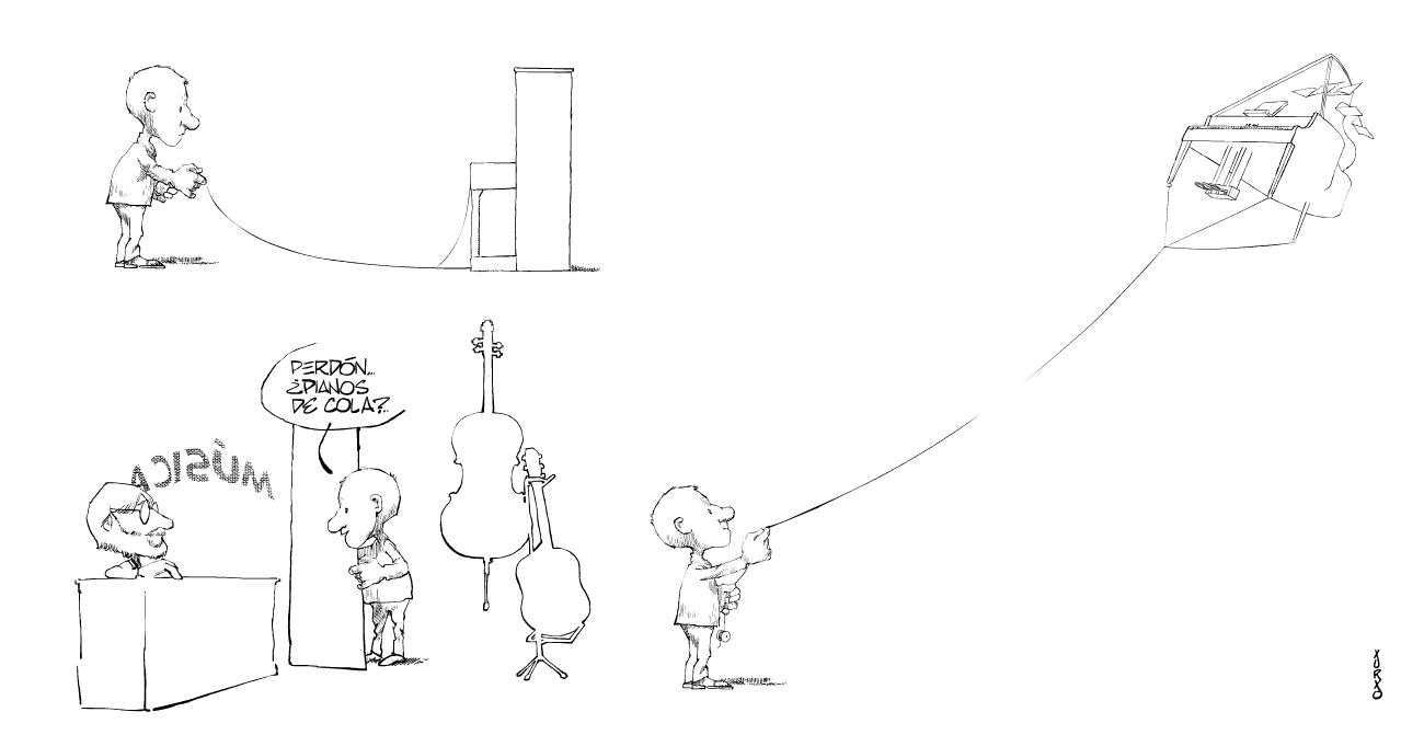 Pianos verticales y pianos de cola