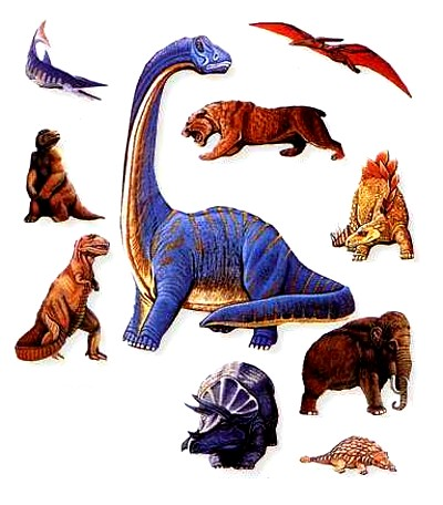 Dinossauros, Origem dos Dinossauros