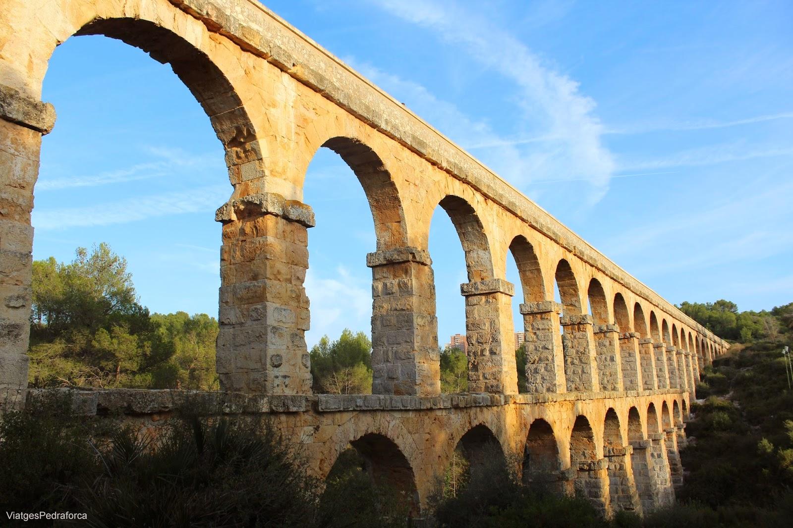 Aqueducte de les Ferreres Tarragona Conjunt arqueologic de Tarraco Patrimoni de la Humanitat