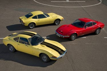 Three Opel GTs in mint condition
