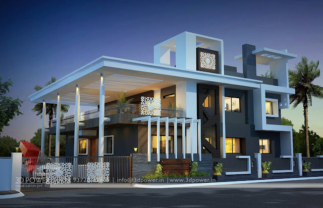 Contemporary Bungalow Exterior Designs - Post Modern Furniture ...