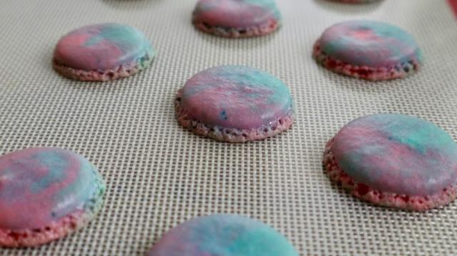 macaron shells - aloha macarons