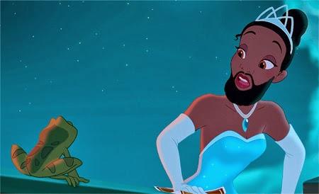 con barbas y a lo loco las princesas de disney se dejan barba