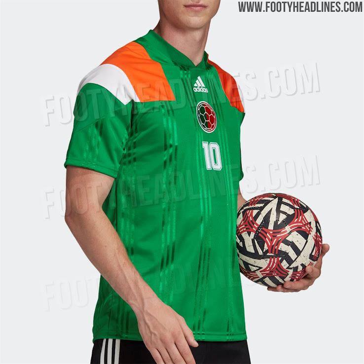 Stunning Ireland-Inspired Adidas Euro 2020 Dublin Jersey Leaked ...